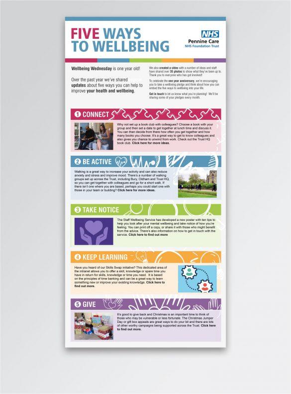 Wellbeing Wednesday internal e-marketing