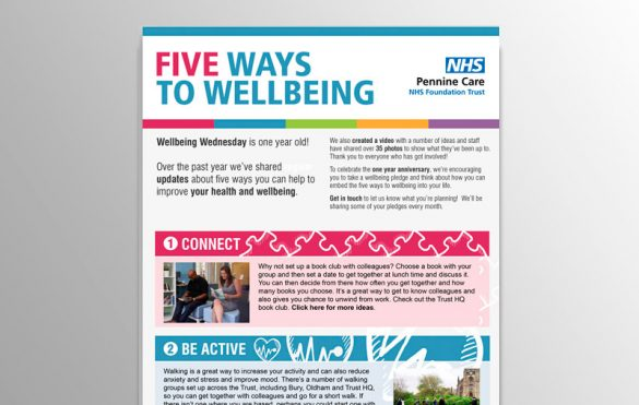 Wellbeing Wednesday emailer