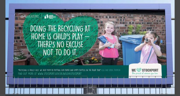 Keep Britain Tidy recycling campaign