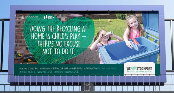 Recycling campaign