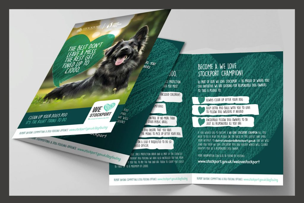 Tidy up after your dog campaign