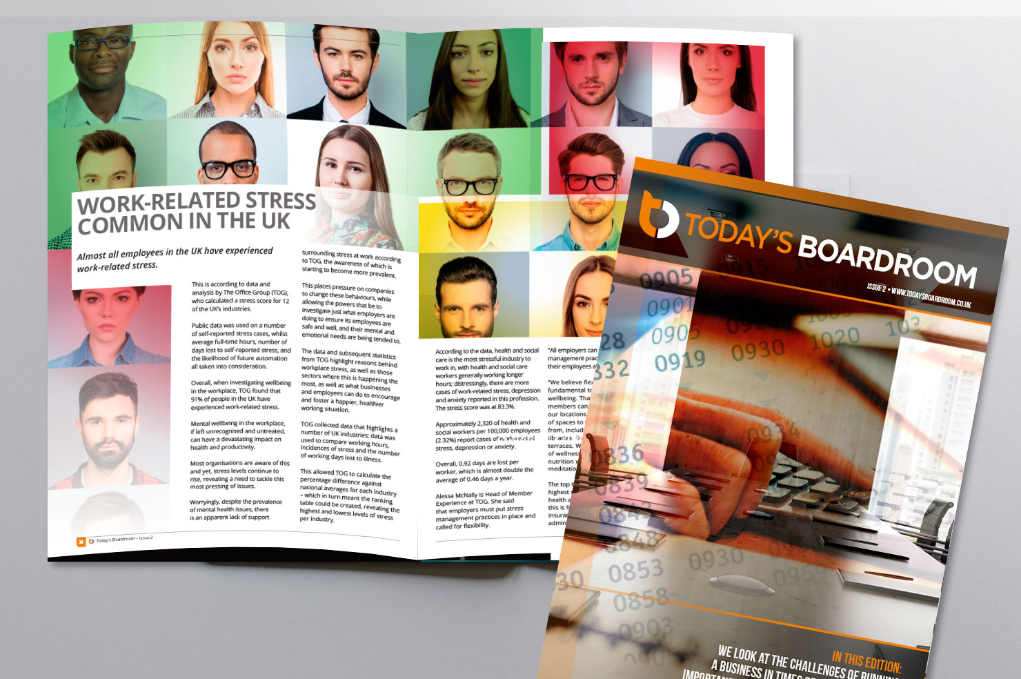 Today's Boardroom magazine issue 2