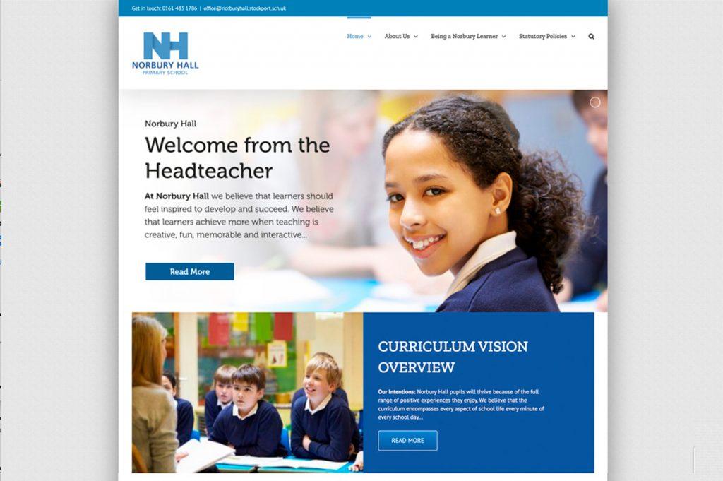 Norbury Hall Primary School Website